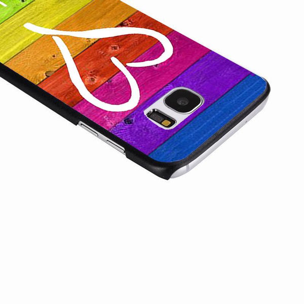 Rainbow Heart Samsung Case - Collection 2017 - gaypridehub