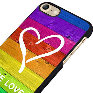 Rainbow Heart iPhone Case - Collection 2017 - gaypridehub