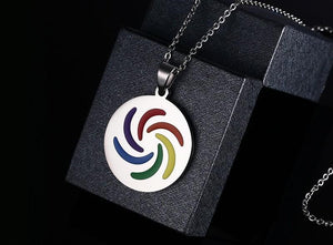 Rainbow Necklace - gaypridehub