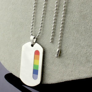 Rainbow Pride Necklace - gaypridehub