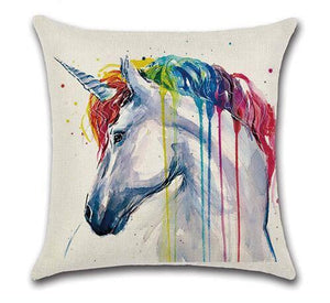 Rainbow unicorn Pillow Case - LGBT Gay and Lesbian Pride - gaypridehub