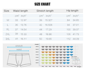 brand mens boxers cotton sexy men underwear mens underpants male panties shorts U convex pouch for gay B0068