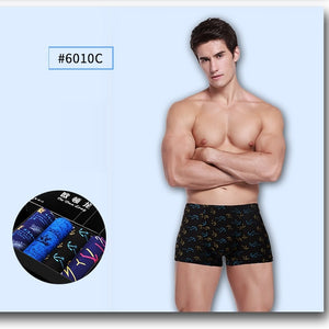 4 pieces/lot Men Boxer soft underwear boxers cuecas made of modal 14 colors size L to 3XL
