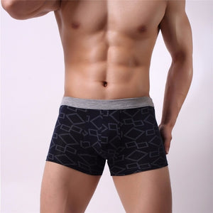 Best price cotton Men Boxer Soft Breathable Underwear Male Comfortable Solid Panties Underpants Boxer shorts Homme For Men 2019