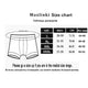 4Pcs/lot Brand Boxer Mens Underwear Cotton Man Big Short Colorful Breathable Solid Flexible Shorts Boxer Pure Color Underpants