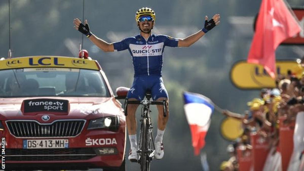 Julian Alaphilippe is doing us proud!