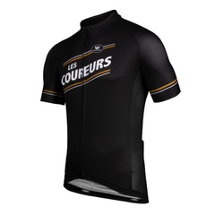 "Cycling Jersey ""Les Coureurs"""