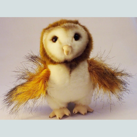 Barn Owl Soft Toy - The Nature Bug