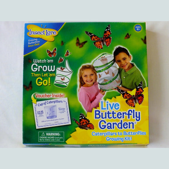 Butterfly Hatching Kit from Insect Lore - The Nature Bug