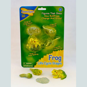 Frog Life Cycle Figures - The Nature Bug