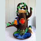 Tree with a Nest Finger Puppet Play Set - The Nature Bug