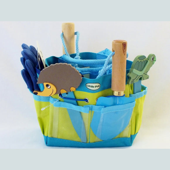 Gardening Kit - Junior (Blue) - The Nature Bug
