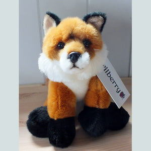 Fox soft toy.