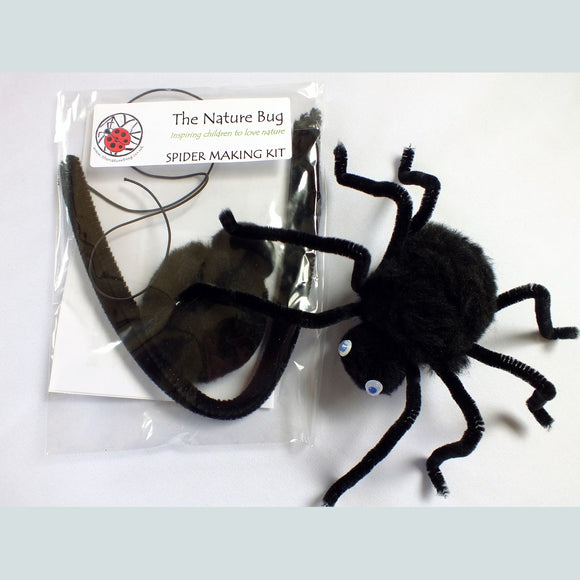 Craft Kit - Spider - The Nature Bug