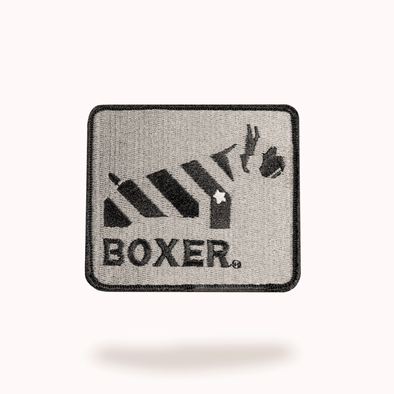 Embroidered Boxer Morale Patch