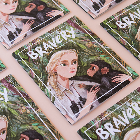 Bravery Magazine - Issue 1 Jane Goodall