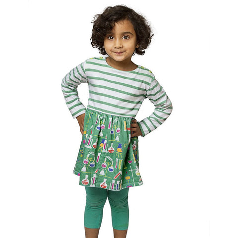 Chemistry Lab Kids' Dress