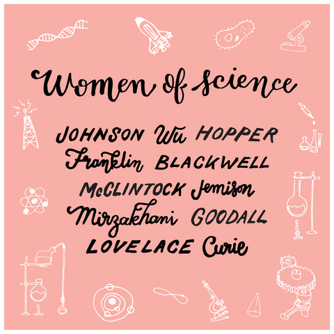 Women of Science Mini-Poster