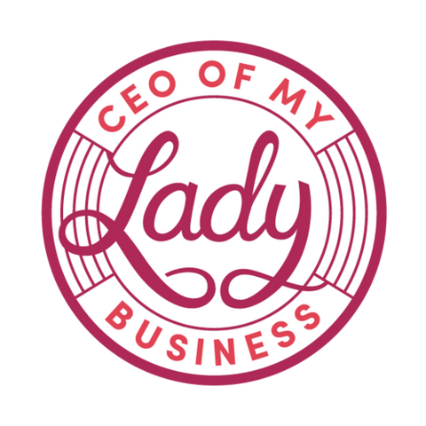 CEO of My Lady Business Sticker