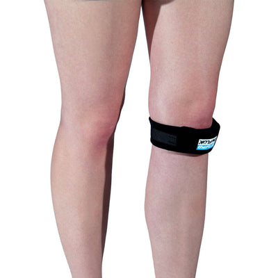 The Fluk Adjustable Patella Knee Strap