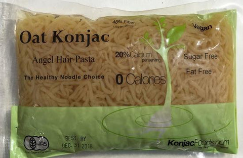 Konjac Shirataki Oat Angel Hair Pasta - 8.8oz ( 24 Bags)