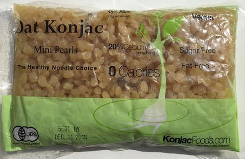 Konjac Shirataki Oat Mini Pearls 8.8oz ( 24 Bags)