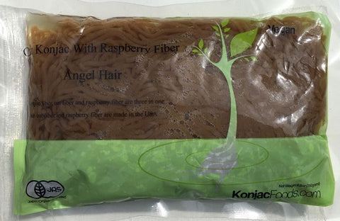 Konjac Shirataki Oat Raspberry Fiber Pasta - Angel Hair 8.8oz (Pack of 24)