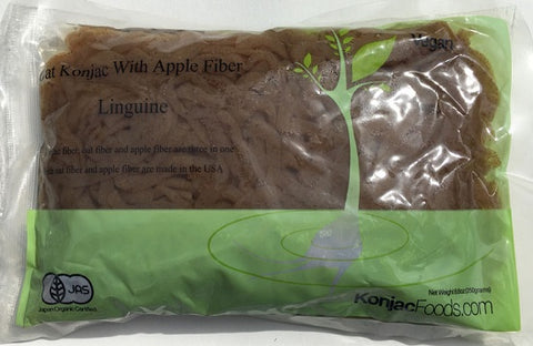 Konjac Shirataki Oat Apple Fiber Pasta - Linguine 8.8oz (Pack of 24)