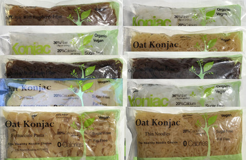 24 bags Konjac Shirataki sample pack (12 different items)