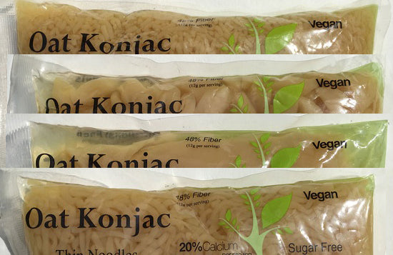 Konjac Shirataki Oat Variety Pack 24 bag (14 different)