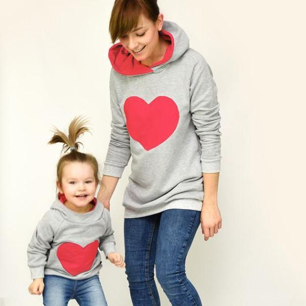 Beloved Matching Mommy & Me Hoodie