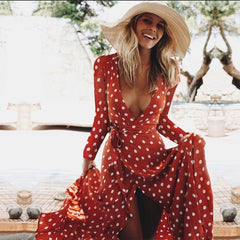 Lisbon Polka Dot Dress