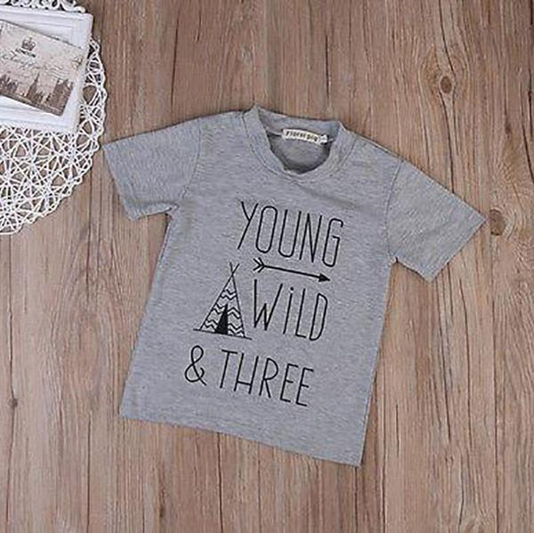 Young Wild & Three Tee