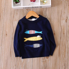 Rather Be Fishing Boy's Sweater