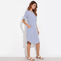 Charleston Striped Dress