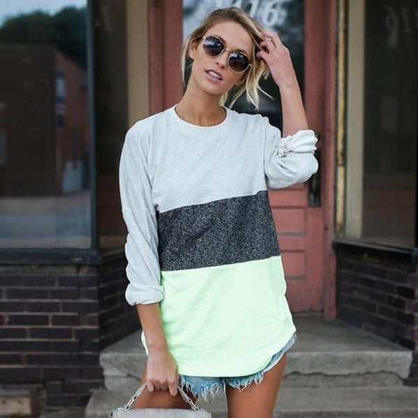 Redding Color Block Long Sleeve