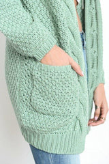 Butler Oversized Knit Cardigan