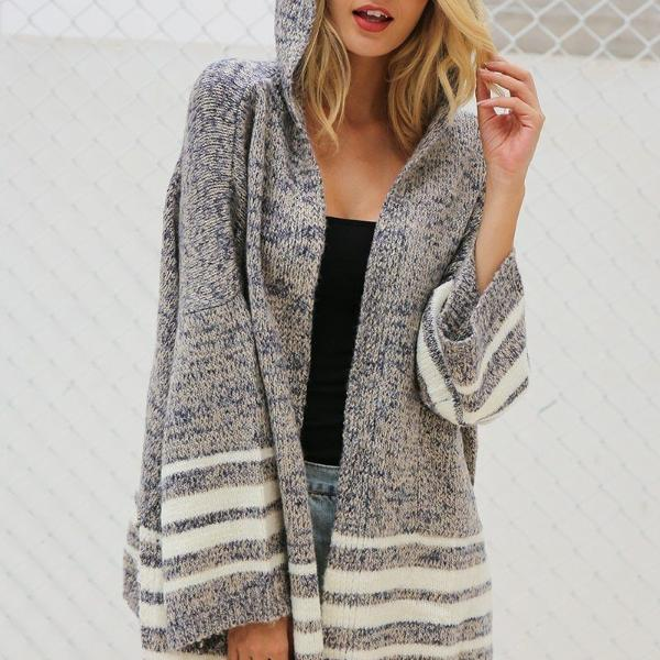 Dublin Chic Hooded Cardigan