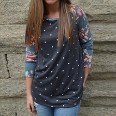 Bridger Polka Dot Pullover