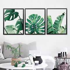 Green Leaf Wall Art