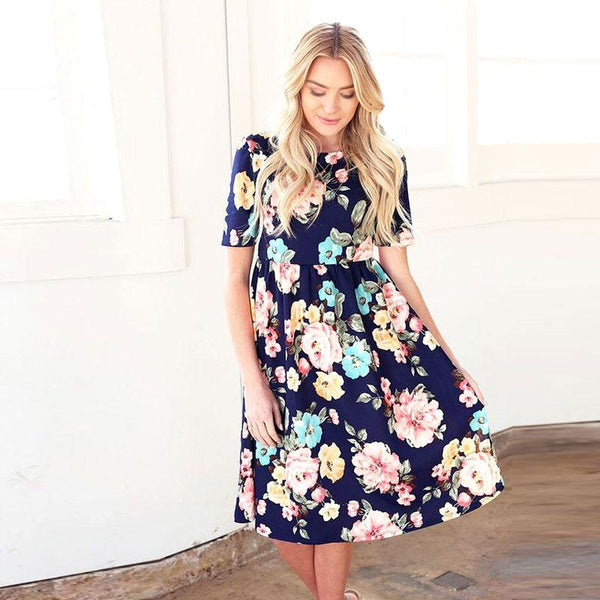 Madison Floral Matching Dresses