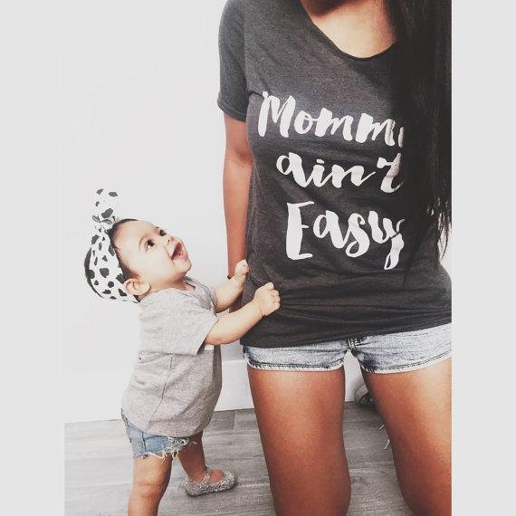 Mommin' Aint Easy Essential Tee