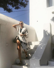 Mykonos Beach Coverup