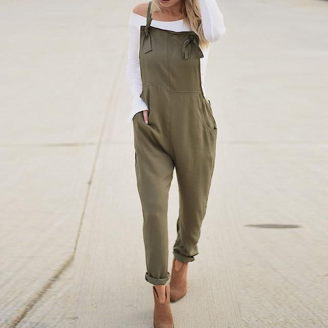 Sun Valley Overall in Sage Green