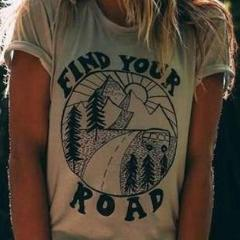 Find Your Road Weekender Tee