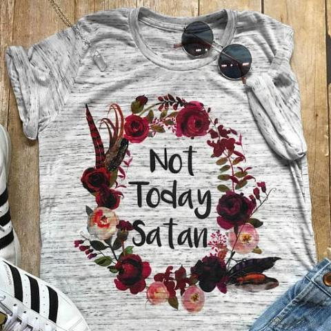 Not Today Satan Essential Tee