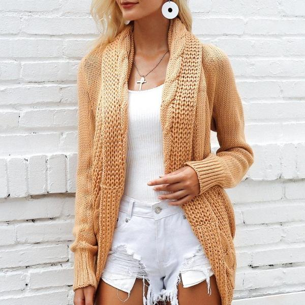 Manchester Knitted Sweater Cardigan