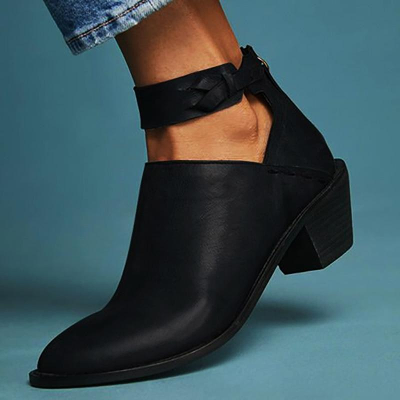 Charleston Ankle Strap Booties
