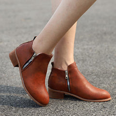 Evergreen Fall Ankle Booties