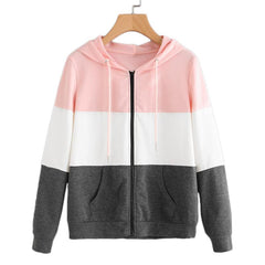 Heartland Color Block Hoodie